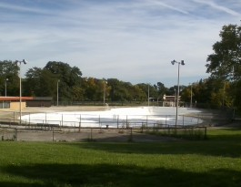 Jackson Park Pool, Milwaukee, Sept. 2014